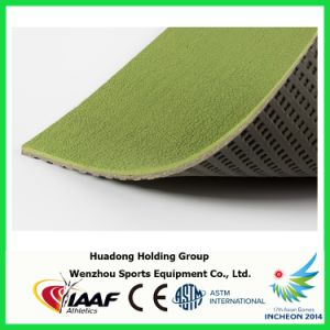 Prefabricated Rubber Flooring Rolls for Track, Court, Field pictures & photos