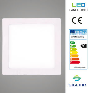 6W 12W 18W 24W Super Thin Recessed Square LED Panel pictures & photos