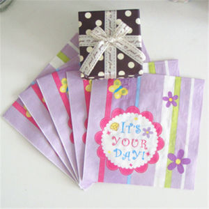 High Quality Party Supply Paper Napkin for Birthday Party pictures & photos