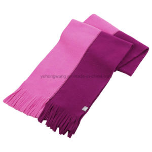 Double Color Winter Warm Knitting Polar Fleece Scarf