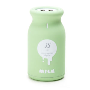 Gadget Milk Bottle Portable RoHS Charger 10000mAh Power Bank for Phone pictures & photos