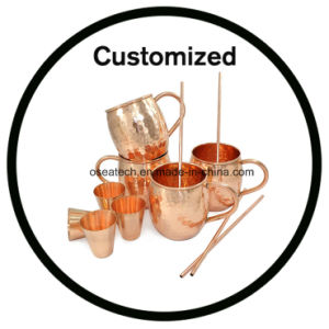 Custom Moscow Mule Mug Set 16 18 Oz with Copper Shot Glasses pictures & photos