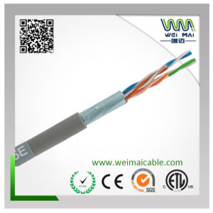 LAN Cable FTP Cat5e 4pair 24AWG Bare Copper pictures & photos