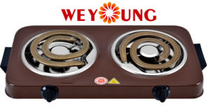 Portable Double Coil Ce RoHS Approval Kitchen Indoor Cooker