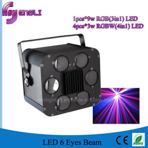 LED 6 Eyes Beam Disco Effect DJ Stage Lighting (HL-058) pictures & photos
