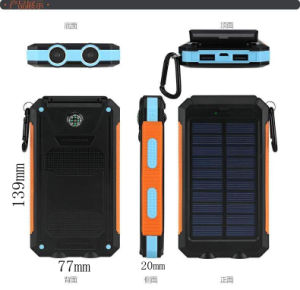 2016 The Most Popular Battery Soalr Charger with Compass for Camping pictures & photos