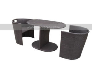 Mtc-078 Rattan Leisure Patio Outdoor Garden Modern Table Set pictures & photos