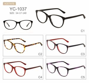 New Style Acetate Eyeglasses Optical Frames pictures & photos