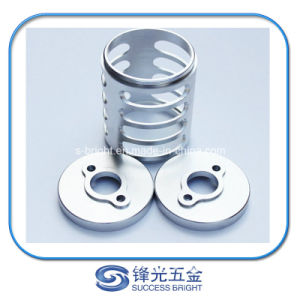 High Precision Aluminum Textile Machine Steady, Al6061 CNC Machined Parts W-014 pictures & photos