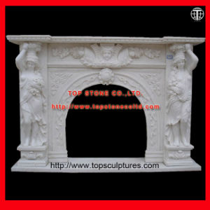 Marble Statuary Fireplace Fireplace Surround Fireplace Mantel pictures & photos