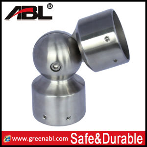 Stainless 304 Adjustable Flush Joiner/Handrail Elbow Cc70 pictures & photos