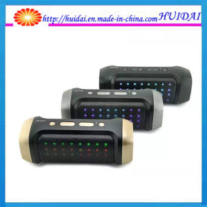 High Quality Jy-23A Dazzling LED Light Portabtle Wireless Mini Speaker with FM Mic Support U-Disk TF Card pictures & photos
