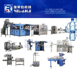 Complete Bottled Pure Mineral Water Water Production Line pictures & photos