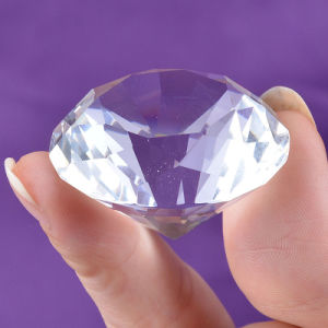 40mm Small Size Glass Diamond for Decoration pictures & photos
