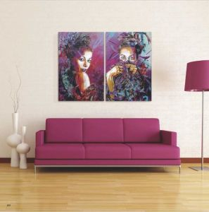 Modern Decoration Canvas Oil Painting pictures & photos