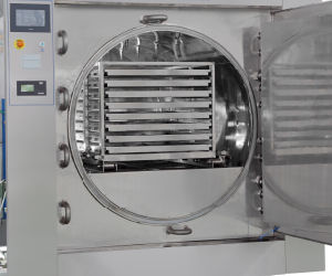 Swinging Super-Heated Water Sterilizer pictures & photos