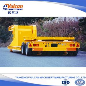 Advanced Supplier Equipment Transport Low Bed Trailer for Hot Sale in Japan