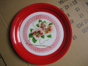 Red Color Hot Sale Enamel Plate pictures & photos