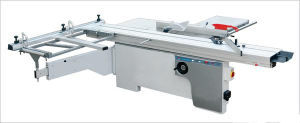 Sliding Table Saw for Woodworking with Handles for Adjusting Height and Angles pictures & photos
