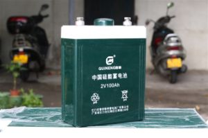 Lead-Acid Cell Silicone Battery 2V100ah