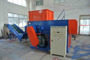 Plastic Container Shredder 2 pictures & photos