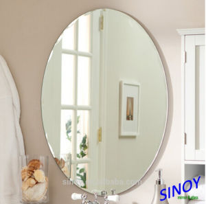 Clear Silver Coated Mirror Glass with Double Coating pictures & photos