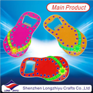 Cute Color Enamel Metal Bottle Opener Slipper Bottle Opener pictures & photos