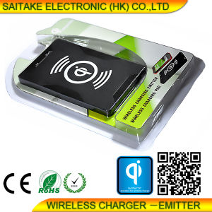 Portable Qi Wireless Charger Slim Design for iPhone 6 pictures & photos