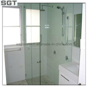 Clear Float Bathroom Glass, Toughened Glass for Shower Glass Room 8mm/10mm pictures & photos