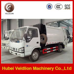 4X2 5m3 Garbage Trucks Compactor From Japan pictures & photos