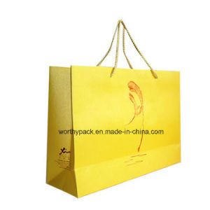 2016 New Design Offset Paper Gift Bag for Shopping