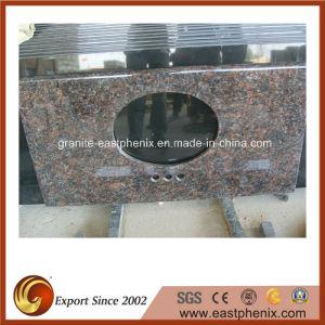 Absolute Black Granite Stone Vanity Top pictures & photos