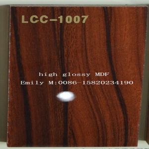 9mm-25mm Wooden High Glossy MDF (LCC-1016) pictures & photos