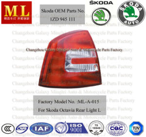 Popular Auto Rear Light for Skoda Octavia From 2004--2ND Generation (OEM parts No.: 1ZD 945 111) pictures & photos