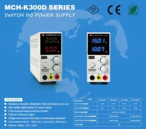 Handed 60W Mch-K302D Adjustable 0-30V/0-2A Safety Switching Power Supply