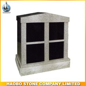 Grey Granite of 4 Niches Columbarium for Sale pictures & photos