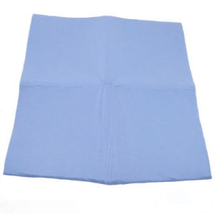 Viscose and Polyester Needle Punched Nonwoven Fabric Pet Drying Towel pictures & photos