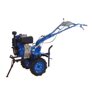 10HP 6.3kw Diesel Engine Power Tiller with CE pictures & photos