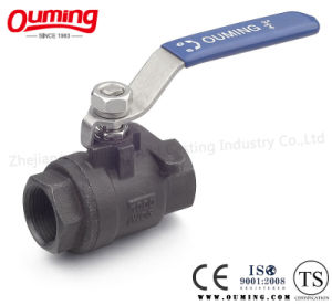 2PC Carbon Steel Floating Ball Valve pictures & photos