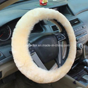 2016 Wool Steering Wheel Cover/Auto Car Decorates pictures & photos