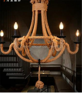 Decorative Rope Pendant Lamp for Home or Hotel, Ce, VDE pictures & photos
