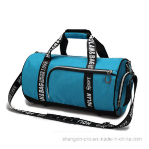 Blue Outdoor Bag Sport Bag with Two Handles pictures & photos