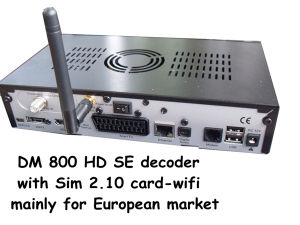 Dream Box Linux HD 800HD Se for Europe Market pictures & photos