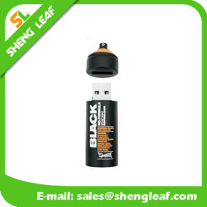 Fashionable Customized Rubber USB for Promotion (SLF-RU006) pictures & photos