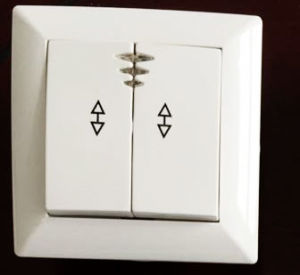 Two Gang Two Way Switch with Lamp 4145 pictures & photos