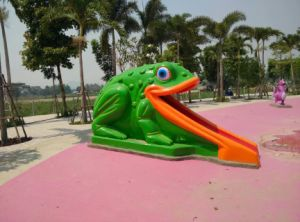 Frog Water Spray in Kids Swimming Pool pictures & photos