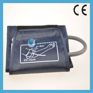 Sphygmomanometer Adult NIBP Cuff with Bladder, Single Tube, 22-32cm pictures & photos