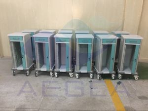 Record ABS Hospital Medical Nursing Patient File Trolley (AG-CHT003) pictures & photos