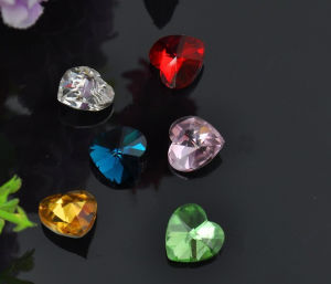 Heart Stones Beads Strass Diamonds for Jewelry pictures & photos