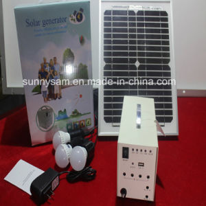 10W Solar Home Lighting System for Indoor Lighting Use pictures & photos